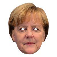 Bild på Angela Merkel Pappmask