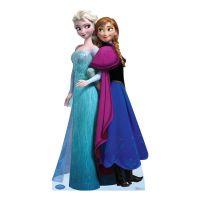 Bild på Anna & Elsa Kartongfigur