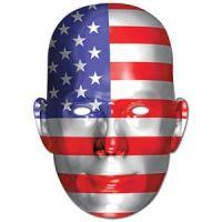 Bild på Ansiktsmask amerikanska flaggan