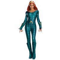 Bild på Aquaman Mera Maskeraddräkt Deluxe (Small (str. 36-38))