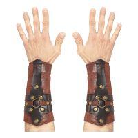 Bild på Armskydd Romare Läderlook - 2-pack