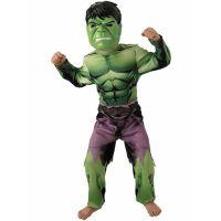 Bild på Avengers Hulken Dräkt Barn Deluxe (Small (3-4 år))