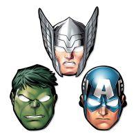Bild på Avengers Pappmasker - 8-pack