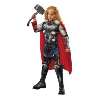 Bild på Avengers Thor Barn Maskeraddräkt - Small