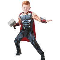 Bild på Avengers Thor Dräkt Deluxe Barn (Small (3-4 år))