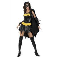 Bild på Batgirl Maskeraddräkt (X-Small (str. 34-36))