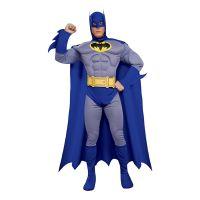 Bild på Batman Brave and Bold med Muskler Maskeraddräkt - Small