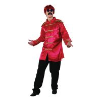 Bild på Beatles Röd Maskeraddräkt - One size
