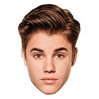 Bild på Bieber Pappmask - 1-pack