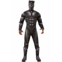 Bild på Black Panther Maskeraddräkt Vuxen Deluxe