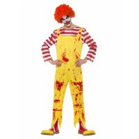 Bild på Blodig Clown Maskeraddräkt Medium