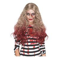 Bild på Blodig Zombie Blond Peruk - One size
