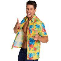 Bild på Blommig Hawaiiskjorta