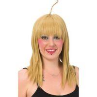 Bild på Blond peruk med tofs