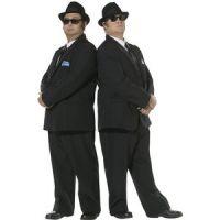 Bild på Blues Brothers maskeraddräkt