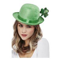 Bild på Bowlerhatt St Patricks Day Grön - One size