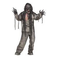 Bild på Brännskadad Zombie Barn Maskeraddräkt - Medium