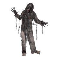 Bild på Brännskadad Zombie Maskeraddräkt - One size