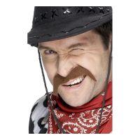Bild på Brun Cowboy Mustasch
