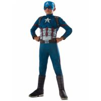 Bild på Captain America Maskeraddräkt Barn Small