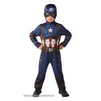 Bild på Captain America maskeraddräkt - Barn
