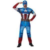 Bild på Captain America maskeraddräkt - Vuxen