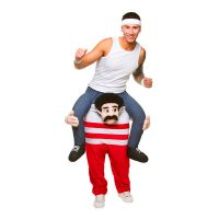 Bild på Carry Me 80-tals Atlet Maskeraddräkt - One size