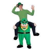 Bild på Carry Me Leprechaun Maskeraddräkt - One size