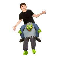 Bild på Carry Me Zombie Barn Maskeraddräkt - One size