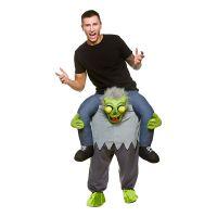Bild på Carry Me Zombie Maskeraddräkt - One size