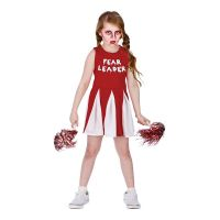 Bild på Cheerleader Halloween Barn Maskeraddräkt - Medium