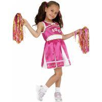 Bild på Cheerleader Maskeraddräkt Barn Medium