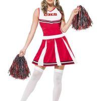 Bild på Cheerleader Röd maskeraddräkt Small