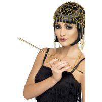Bild på Cigaretthållare Utdragbar Guld 20-tal