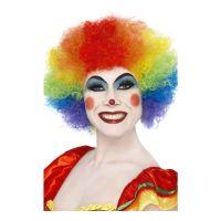 Bild på Clownperuk Regnbågsfärgad - One size
