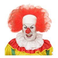 Bild på Clownperuk Röd med Flint - One size