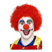 Bild på Clownperuk Röd - One size