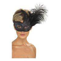 Bild på Colombina Svart Ögonmask - One size