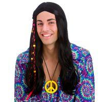 Bild på Cool Hippie Peruk Svart