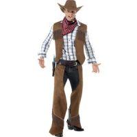 Bild på Cowboy med fransar maskeraddräkt - Medium