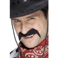 Bild på Cowboy mustasch svart