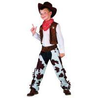 Bild på Cowboydräkt barn brun