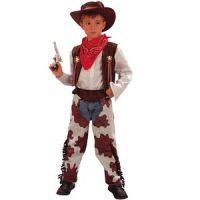 Bild på Cowboydräkt barn ljusbrun