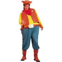 Bild på Cowboydräkt parodi - en smula rund