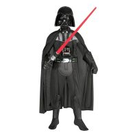 Bild på Darth Vader Deluxe Barn Maskeraddräkt - Small