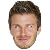 Bild på David Beckham ansiktsmask