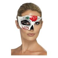 Bild på Day of the Dead Halv Ögonmask - One size