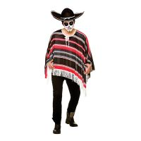 Bild på Day of The Dead Poncho - One size