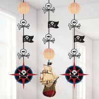 Bild på Dekoration Pirat 3-pack
