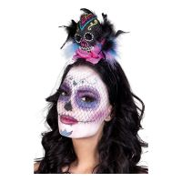 Bild på Diadem Day of the Dead Calavera - One size